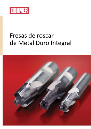 Fresas de roscar de Metal Duro Integral