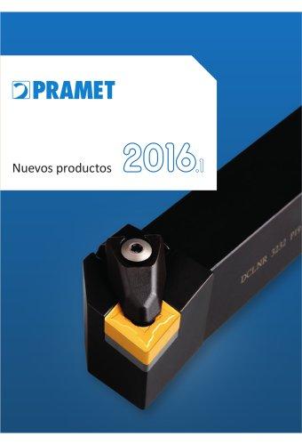 Nuevos productos Pramet 2016.1