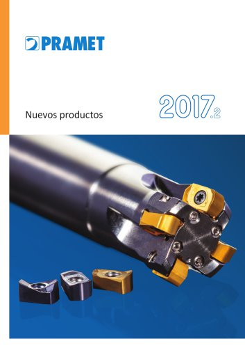 Pramet nuevos productos 2017.2