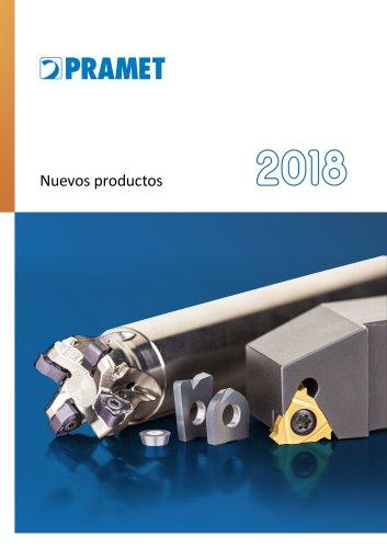 Pramet Nuevos productos 2018