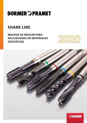 Shark Line MACHOS DE ROSCAR PARA APLICACIONES EN MATERIALES ESPECÍFICOS 2020