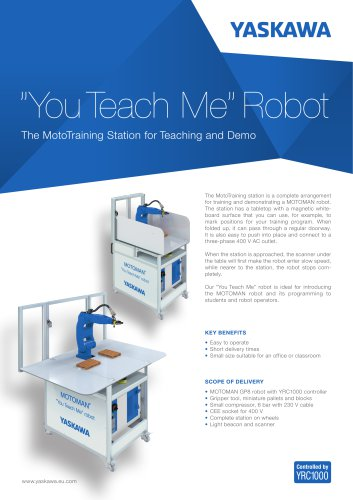 """You teach Me""Robot"