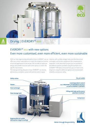 Adsorption dryer EVERDRY eco