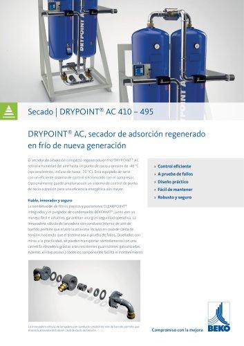 Aecador de adsorción DRYPOINT AC 410 - 495