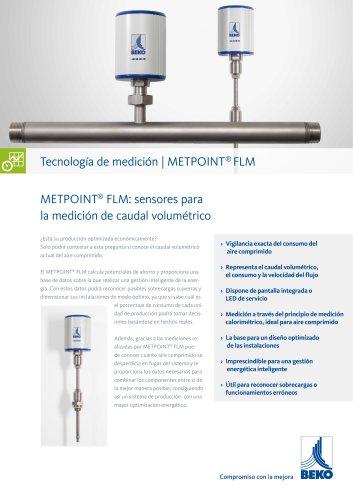 Medición del flujo de volumen con METPOINT FLM