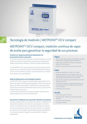 Medición de vapor de petróleo con METPOINT OCV compact