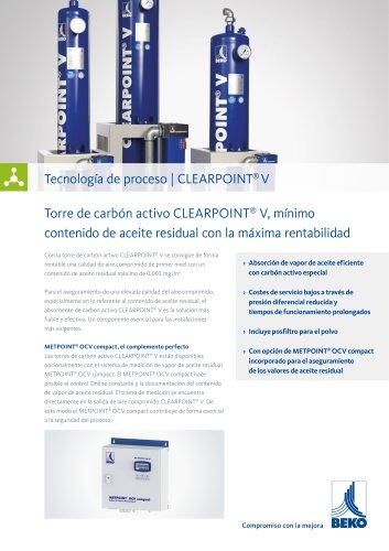 Torre de carbón activo CLEARPOINT V