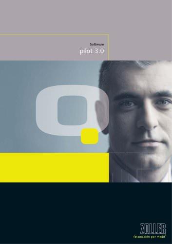 Control inteligente de la máquina Software »pilot 3.0«