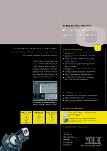 »genius« : la maquina universal de medicion para el control de herramientas