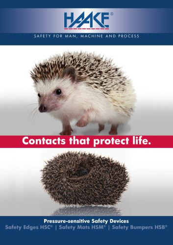 Contacts that protect life.