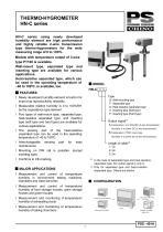 On-line temperature/humidity sensor HN-C