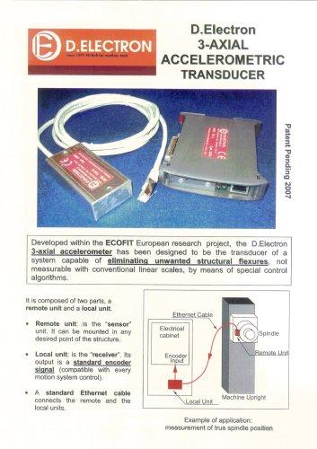 3-axial Accelerometer Brochure