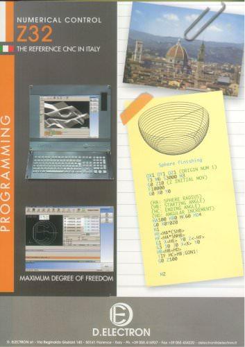 programming brochure