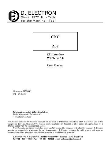 Z32 human-machine-interface