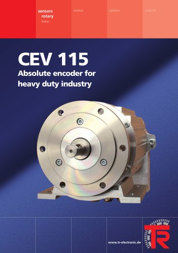 Absolute encoder for heavy industry