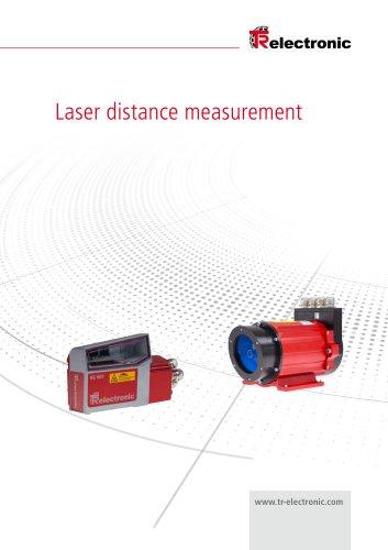 Laser distance measurement