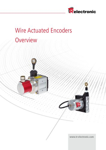Wire Actuated Encoders Overview