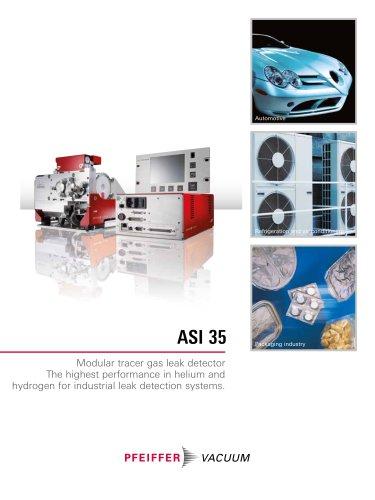 ASI 35 - Modular tracer gas leak detector