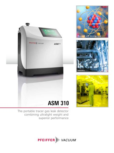 ASM 310 - Portable Helium Leak Detector