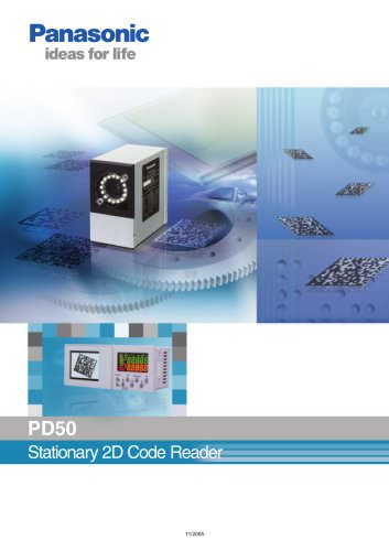 "Brochure ""2D Code Reader PD50"""