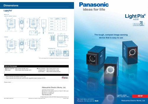 "Brochure ""LightPix AE20"""