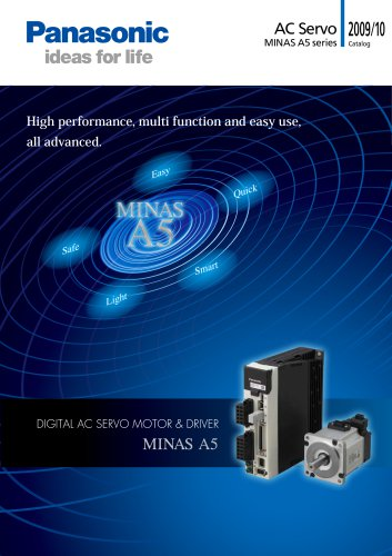 Catalog MINAS A5 series