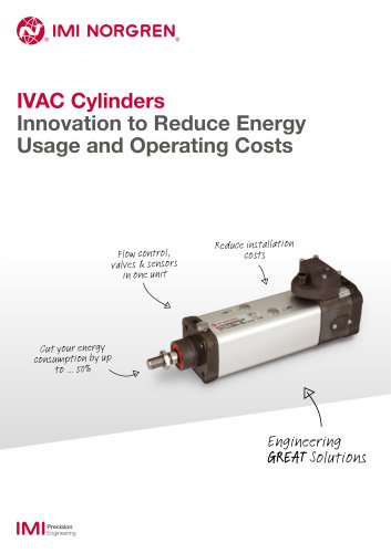 IVAC Cylinders Innovation to Reduce Energy Usage dand Operating Costs