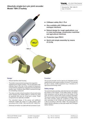 Rotary encoder TBN37