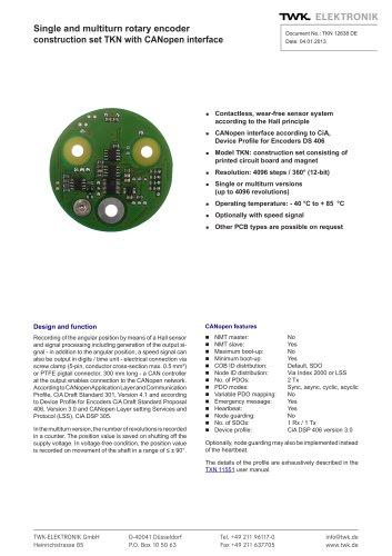 Rotary encoder TKN46
