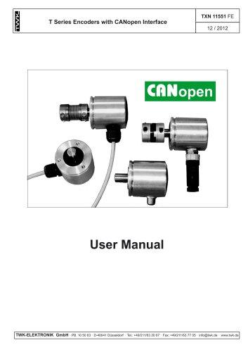 Rotary encoder TMN50 manual