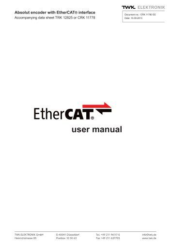 Rotary encoder TRK manual
