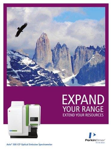 Avio® 500 ICP Optical Emission Spectrometer Brochure