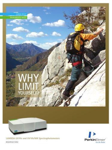LAMBDA 850/950/1050 UV/Vis and UV/Vis/NIR Spectrophotometers