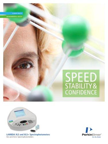 LAMBDA XLS and XLS+  Spectrophotometers Brochure