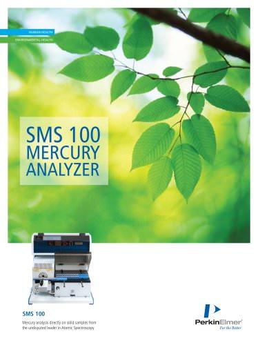 SMS 100 MERCURY ANALYZER