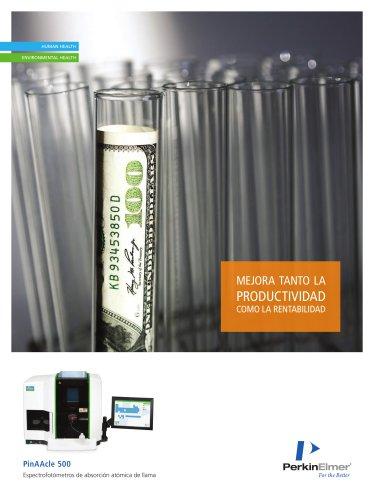 Spanish - PinAAcle 500 Flame AA Brochure