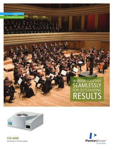 STA 6000 Simultaneous Thermal Analyzer Brochure