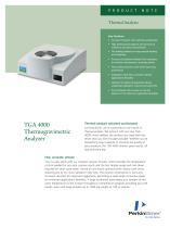 TGA 4000 Thermogravimetric Analyzer