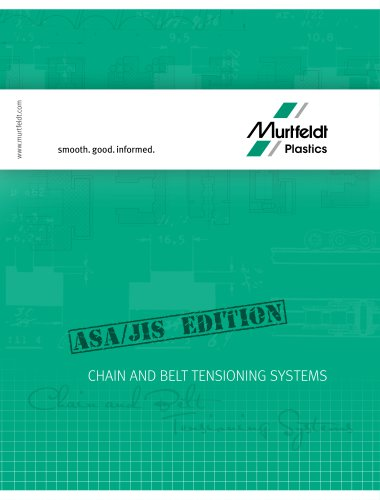 Chain and belt tensioning systems