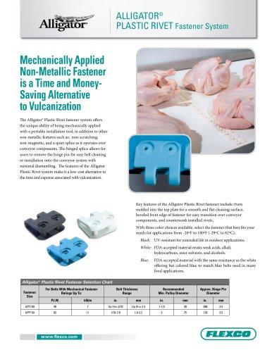 Alligator® Plastic Rivet Literature