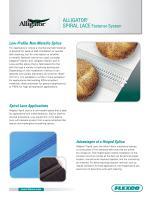 Alligator® Spiral Lace Fastener System