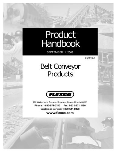 Belt Conveyor Products Handbook