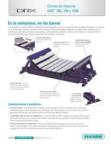 Camas de impacto DRX™ 200, 750 y 1500