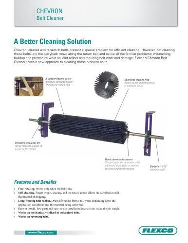 Chevron Belt Cleaner
