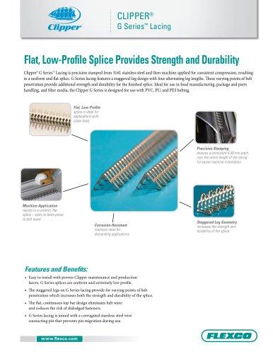 clipper® G Series Lacing
