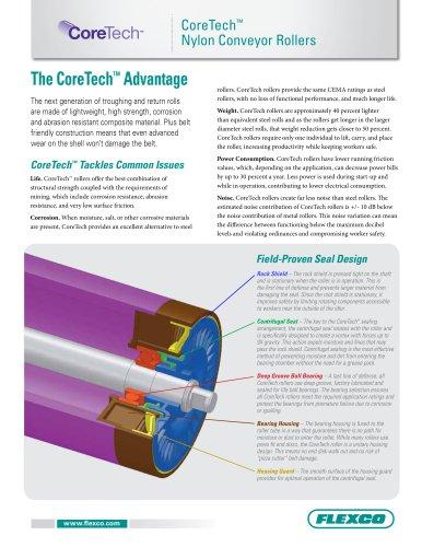 Coretech? Nylon Conveyor Rollers