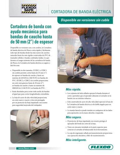 cortadora de banda eléctrica