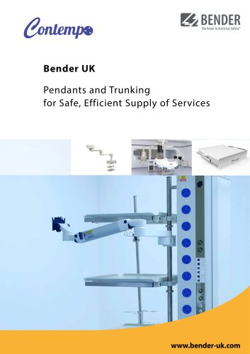 Pendants and Trunking for Safe, Efficient Supply of Services