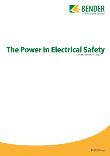 The Power in Electrical Safety Device overview 01/2020