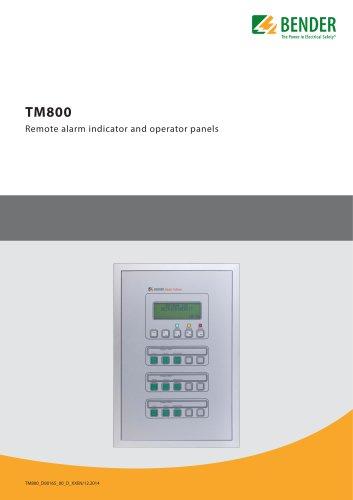 TM Series Alarm and control panels